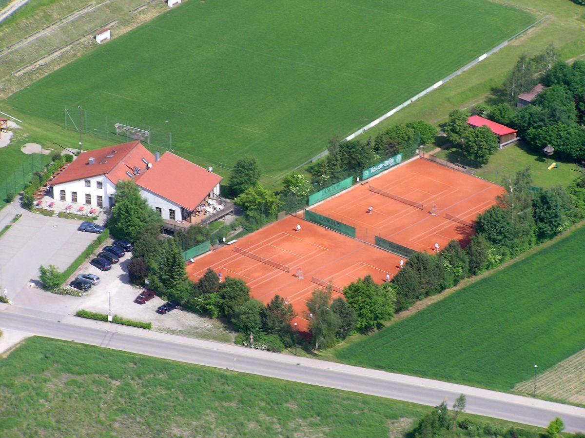 Sportanlage des TC Merching